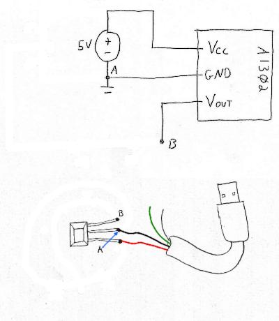 Make a Magnetometer Hall Sensor Wiring Diagram Symbols on