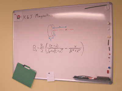 How do you make a whiteboard magnetic
