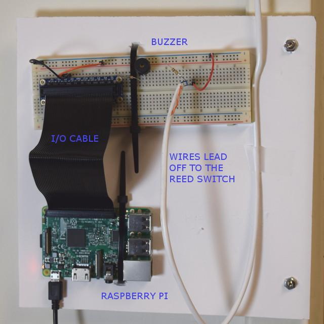 Raspberry Pi Alarm System