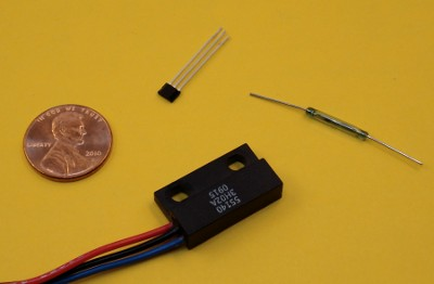 Reed Switches And Hall Effect Sensors