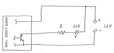 reed switches and hall effect sensors circuit diagram for hall effect demo